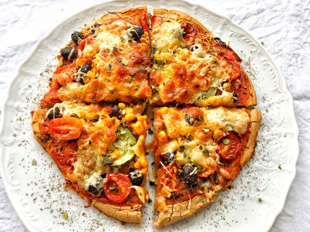 Kynutá bezlepková pizza